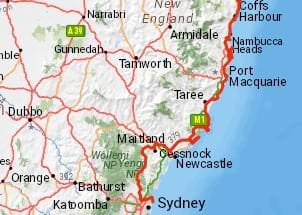 Monavale to Goldcoast